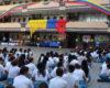 Izada de Bandera 20 de Julio Dia de Independencia Colombia
